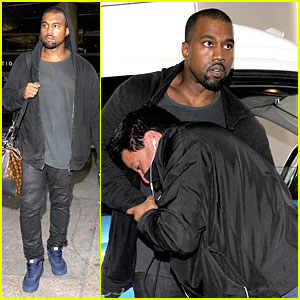 Kanye West: Felony Suspect After LAX Photographer Scuffle