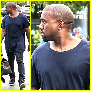 Kanye West Steps Out After Turning Down North Photo Deal