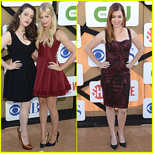 Kat Dennings & Beth Behrs: CBS Summer TCA Party!
