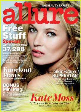 Kate Moss Covers 'Allure' Magazine August 2013