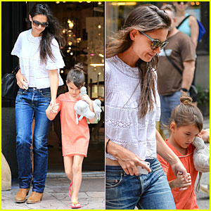 Katie Holmes & Suri Shop for Home Furnishings!