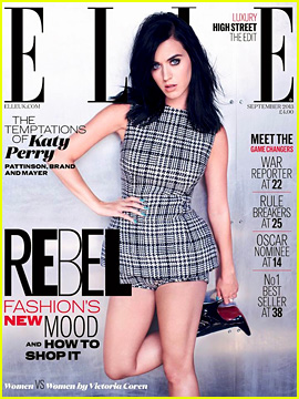 Katy Perry Covers 'Elle UK' September 2013