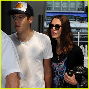 Keira Knightley Returns to London with James Righton!