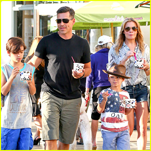 LeAnn Rimes & Eddie Cibrian Get the Menchies Munchies!