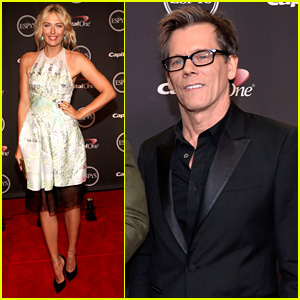 Maria Sharapova & Kevin Bacon - ESPYs 2013 Presenters
