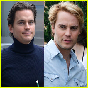 Matt Bomer & Taylor Kitsch Film 'Normal Heart' in New York City