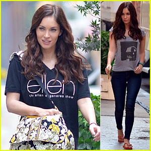 Megan Fox: 'Ellen DeGeneres Show' Supporter!
