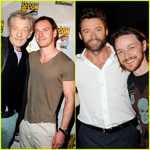 Michael Fassbender & James McAvoy: 'X-Men' at Comic-Con!