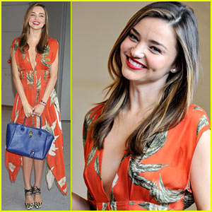 Miranda Kerr Receives 'Warm Welcome' in Japan