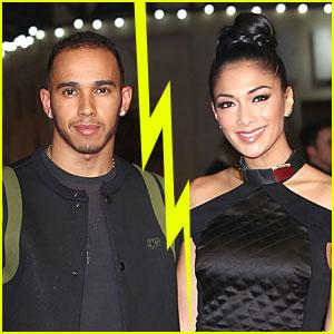 Nicole Scherzinger & Lewis Hamilton Split Again?