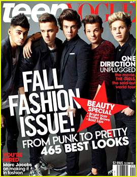 One Direction Covers 'Teen Vogue' September 2013