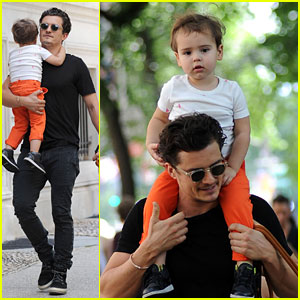 Orlando Bloom: Daddy Day Out with Flynn!