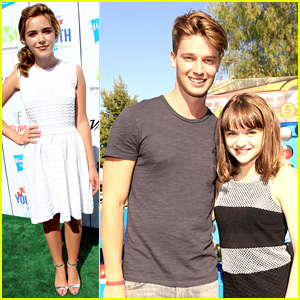 Patrick Schwarzenegger & Joey King - Power of Youth 2013