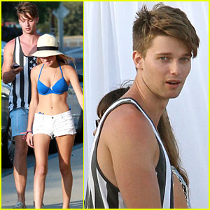 Patrick Schwarzenegger & Taylor Burns: Paris Hilton's July 4 Party!