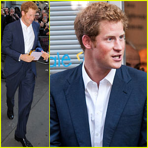 Prince Harry Steps Out After Royal Baby Prince George's Birth!