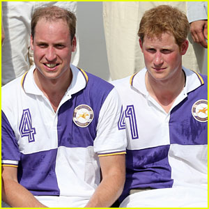 Prince William & Harry: Jerudong Trophy Charity Polo Match