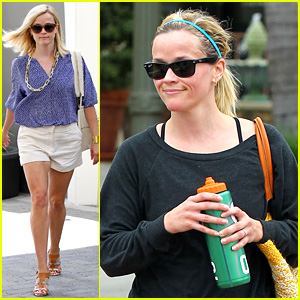 Reese Witherspoon: Monday Morning Workout & Office Visit!