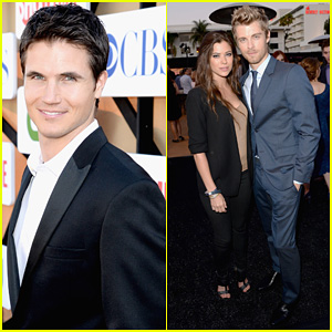 Robbie Amell & Peyton List: CW's Summer TCA Party!