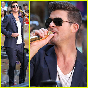Robin Thicke Addresses 'Blurred Lines' Controversy on 'Today'