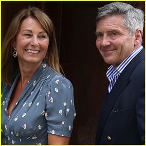 Royal Baby: Carole & Michael Middleton Visit New Grandchild!