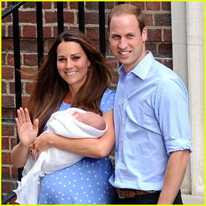 Royal Baby First Photos with Kate Middleton & Prince William