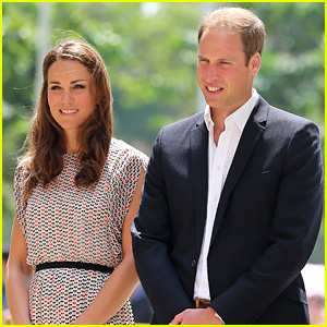 Royal Baby Leaves Hospital with Kate Middleton & Prince William!