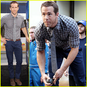 Ryan Reynolds Plays Skee Ball, Promotes 'Turbo' on 'Today'!