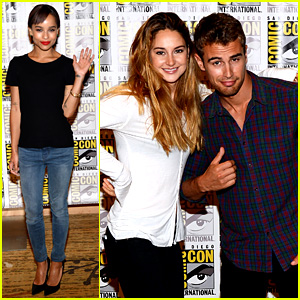 Shailene Woodley & Theo James: 'Divergent' Comic-Con Panel!