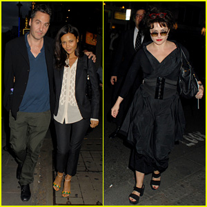 Thandie Newton & Helena Bonham Carter: 'Private Lives' Press Night!