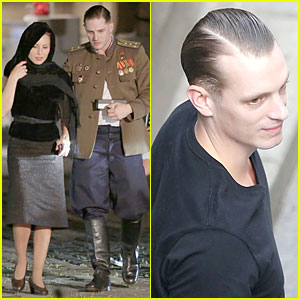 Tom Hardy & Noomi Rapace: 'Child 44' Set with Joel Kinnaman!