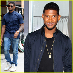 Usher Lights Empire State Building Before 4th of July Fireworks!
