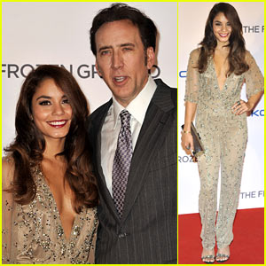 Vanessa Hudgens: 'Frozen Ground' UK Premiere with Nicolas Cage