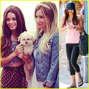 Vanessa Hudgens: Happy Birthday, Ashley Tisdale!