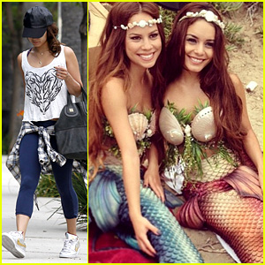 Vanessa Hudgens & Kim Hidalgo Are Mermaids!