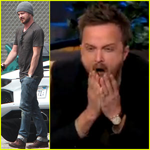 Watch Aaron Paul React to His Original '90210' Cameo