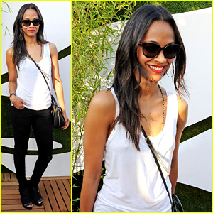 Zoe Saldana: Rolling Stones at British Summer Time Hyde Park!
