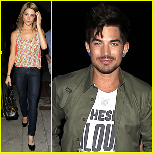 Adam Lambert & Ashley Greene: Hooray Henry's Opening Night!