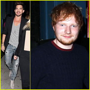 Adam Lambert & Ed Sheeran: Night Out at Hooray Henry's!