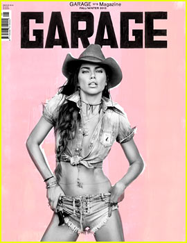 Adriana Lima Covers 'Garage' Fall/Winter 2013
