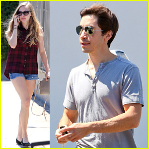 Amanda Seyfried & Justin Long: BLD Lunch Date!