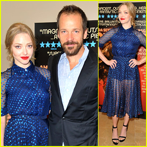 Amanda Seyfried & Peter Sarsgaard: 'Lovelace' in London!