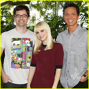 Anna Faris: 'Cloudy with a Chance of Meatballs 2' Press Event!