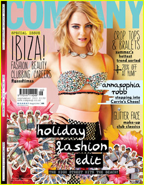AnnaSophia Robb: Bikini for 'Company' Magazine September 2013