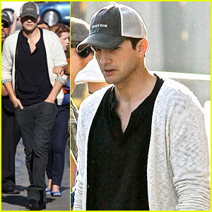 Ashton Kutcher: 'Jimmy Kimmel Live!' Appearance - Watch Now!