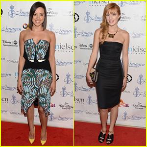 Aubrey Plaza & Bella Thorne: Imagen Awards 2013!