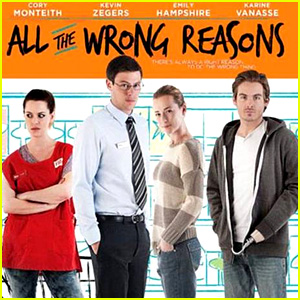 Cory Monteith & Kevin Zegers: 'All the Wrong Reasons' Trailer!
