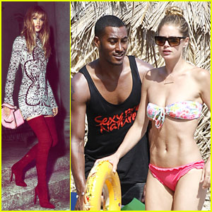 Doutzen Kroes: Bikini Vacation After 'Emilio Pucci' Announcement!