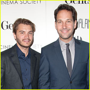 Emile Hirsch & Paul Rudd: 'Prince Avalanche' NYC Screening!
