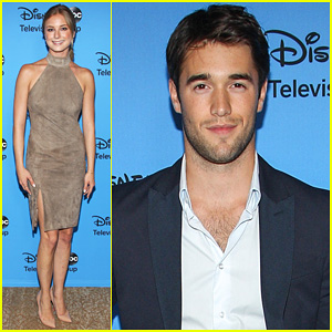 Emily VanCamp & Josh Bowman: TCA's Disney/ABC Party!