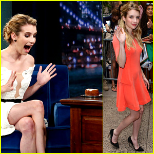 Emma Roberts Denied Cronuts, Jimmy Fallon Gets Her One!